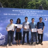 USTH finishes second at the National Physics Olympiad 2018