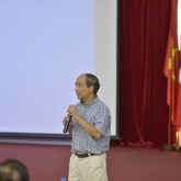 Prof. Ho Tu Bao shares about Artificial Intelligence and Data Science at USTH