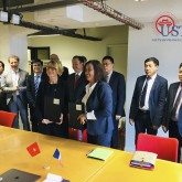 USTH strengthens cooperation with Paris Diderot University (France)