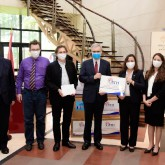 USTH gifted 10.000 facemasks to French partners