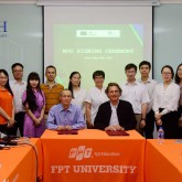 USTH signed a Memorandum of Understanding with FPT University.