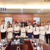 10 outstanding USTH students received Odon Vallet Scholarships 2020