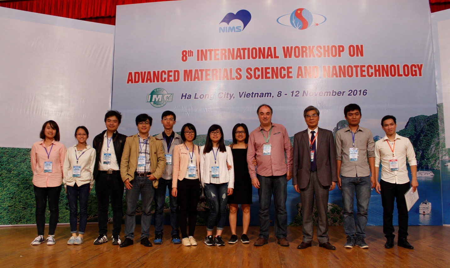 Researchers and students from Nano Department at IWAMSN 2016