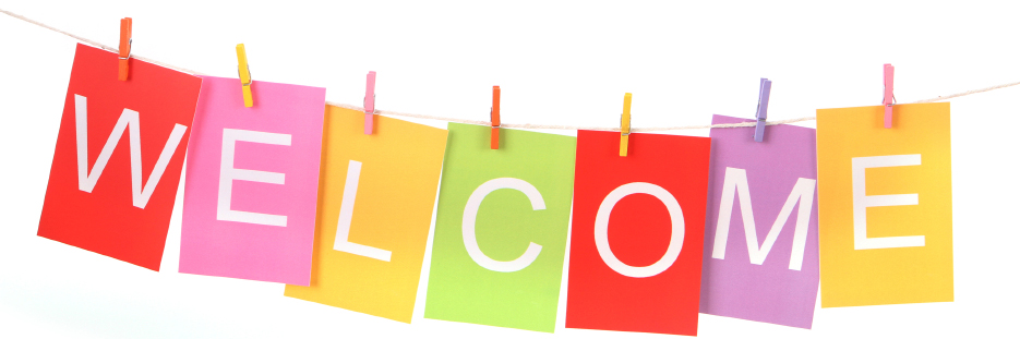 Welcome Hanging Banner