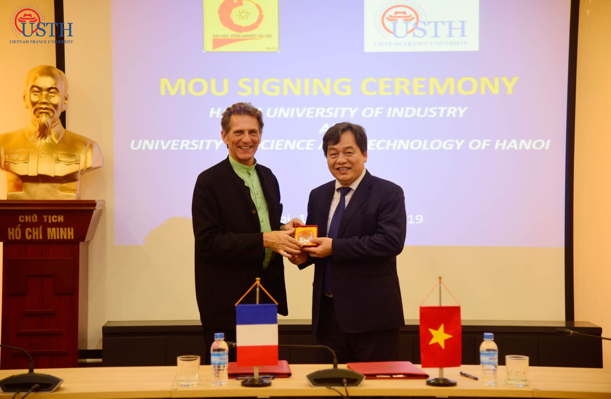 usth ky ket mou voi dai hoc cong nghiep ha noi 5